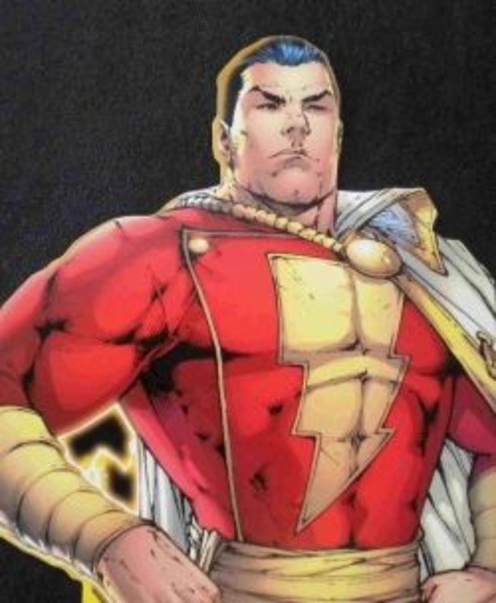 Captain Marvel of DC Comics