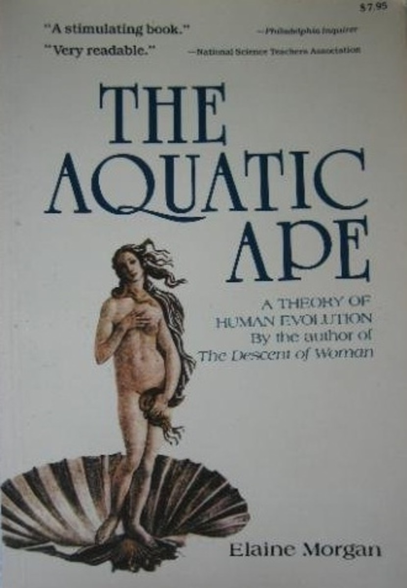 One of Elaine Morgan's books