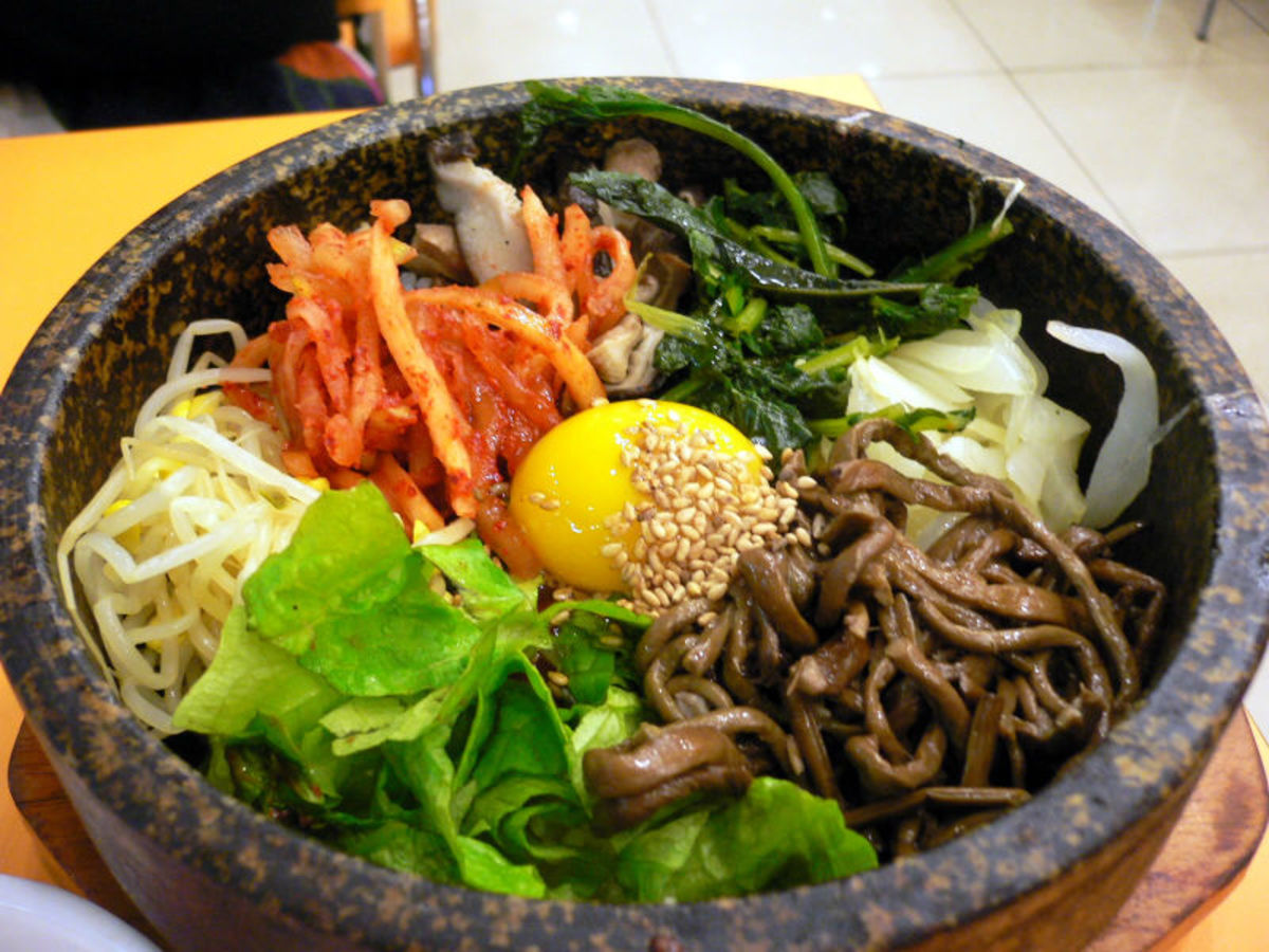 Korean Recipe: Bibimbap