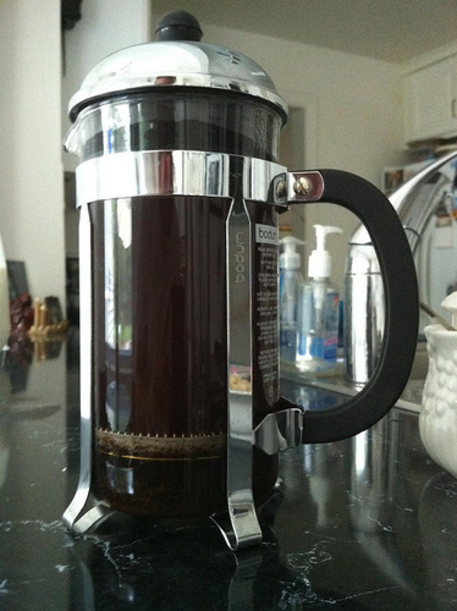 If you're serious about taking your iced coffee to the next level, a French press is the way to go.