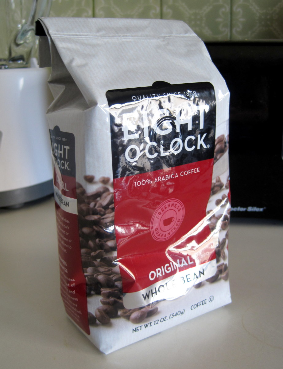 Whole beans are readily available at almost any grocery store or coffee shop.