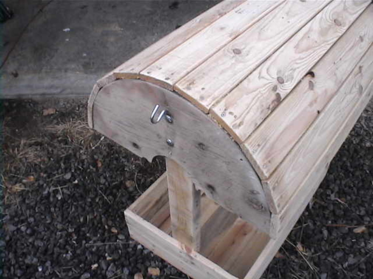 Diy Saddle Stand Made From Reclaimed Wood Pallets Hubpages