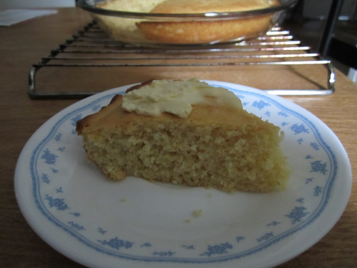 No Egg Cornbread Recipe Photo