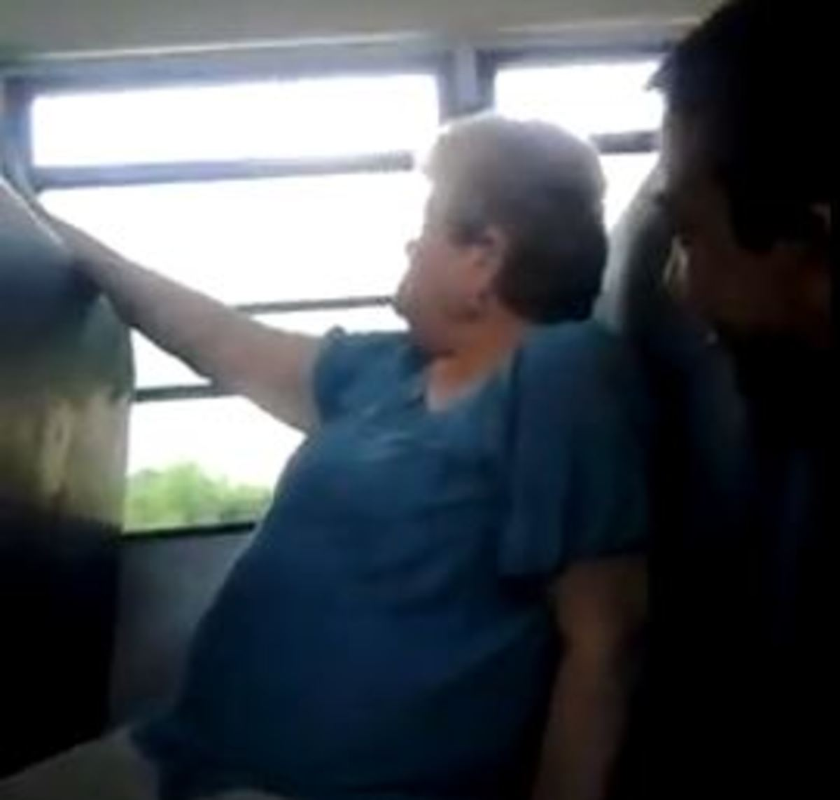 Bus Monitor Being Bullied by 7th Graders