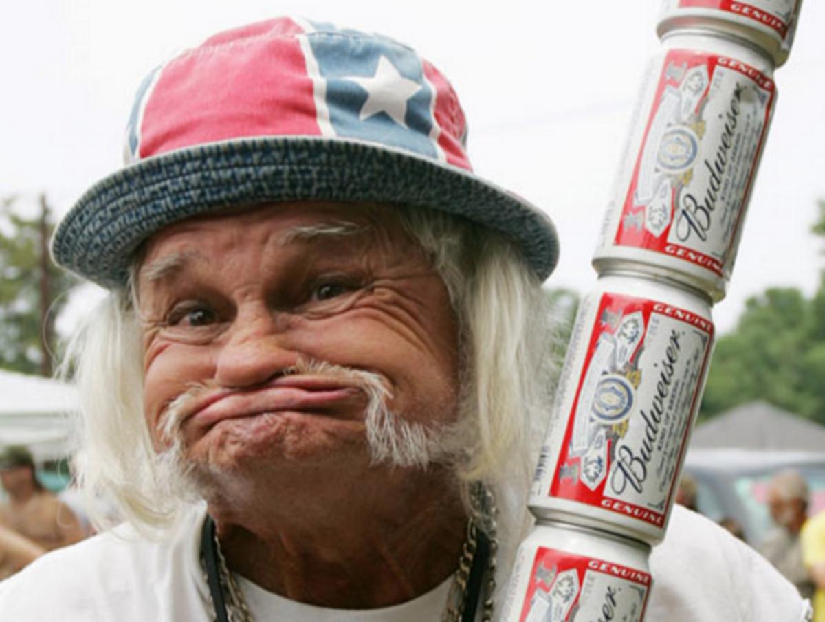 Old redneck.