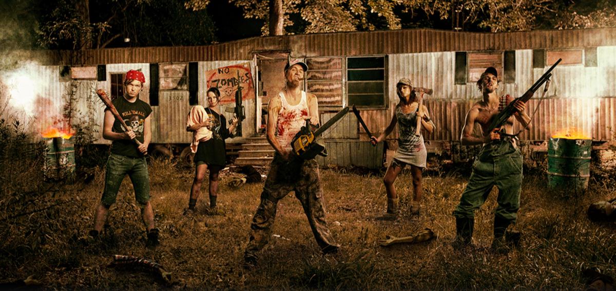 Redneck Zombie Killing Team