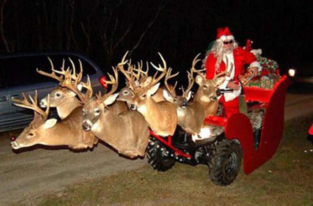 Redneck Santa?