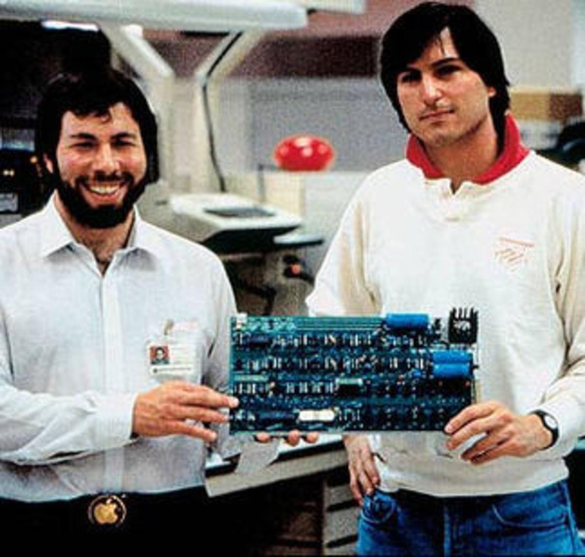 Wozniak and Jobs