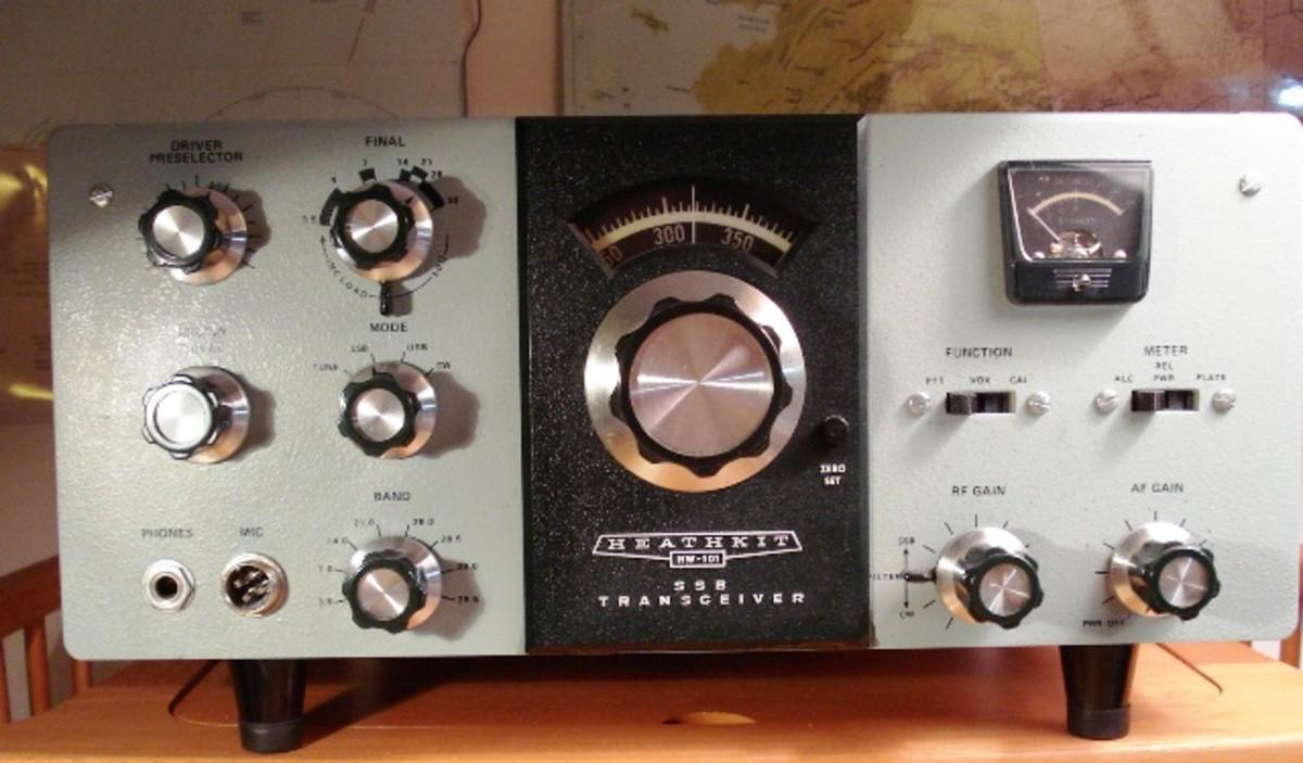 HeathKit Model of a Radio