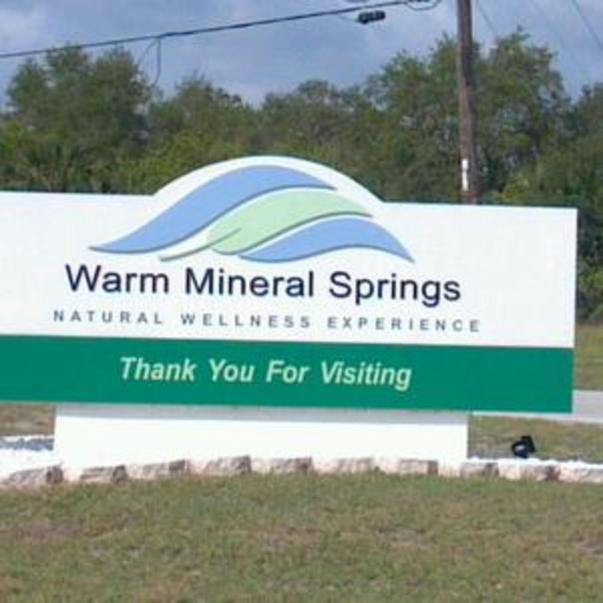 Warm Mineral Springs, North Port, Florida