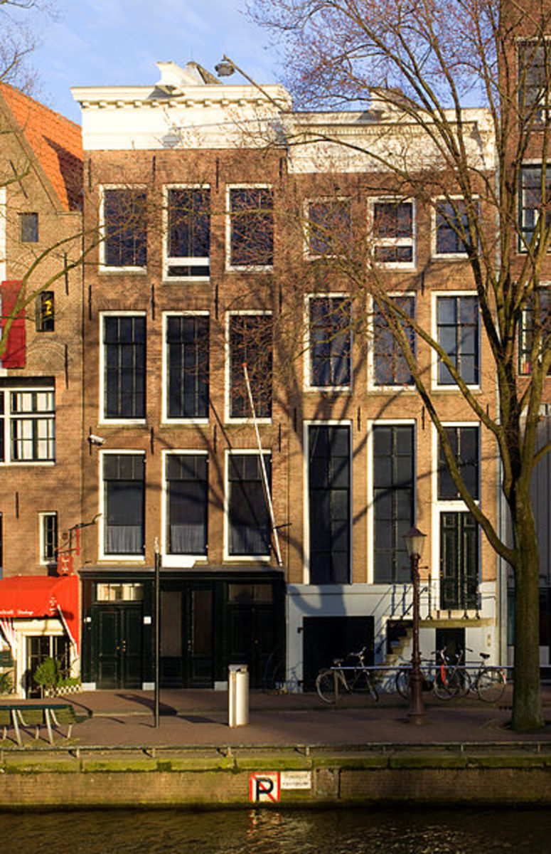 Anne Frank House, Prinsengracht, Amsterdam