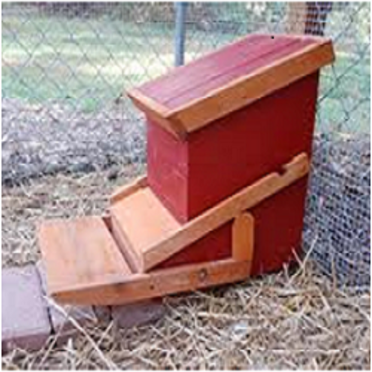 Treadle feeders prevent other birds from eating your chicken feed.