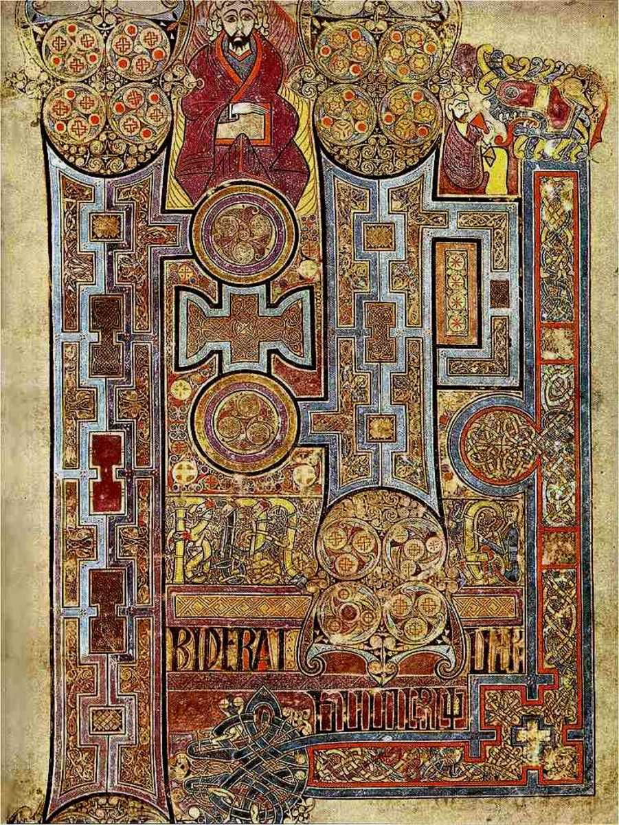 Opening page to the Gospel of John in The Book of Kells.
