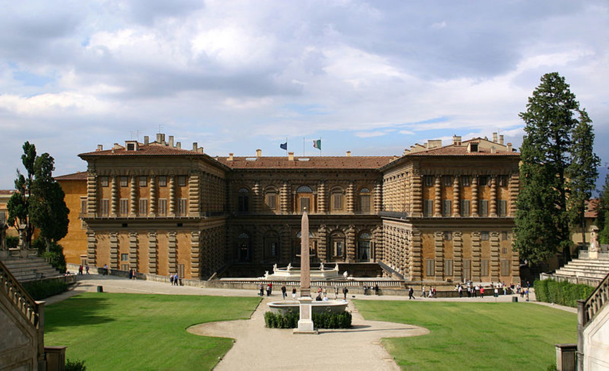 Palazzo Pitti and Boboli Gardens.