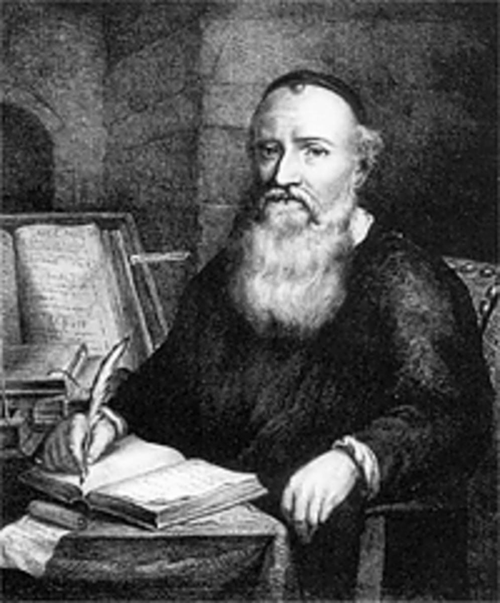 Menno Simons whose teachings the Mennonites adopted and follow.