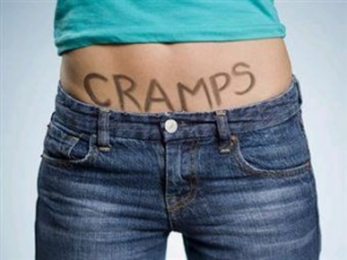 Cramps can either be primary or secondary menstrual cramps (dysmenorrhea)