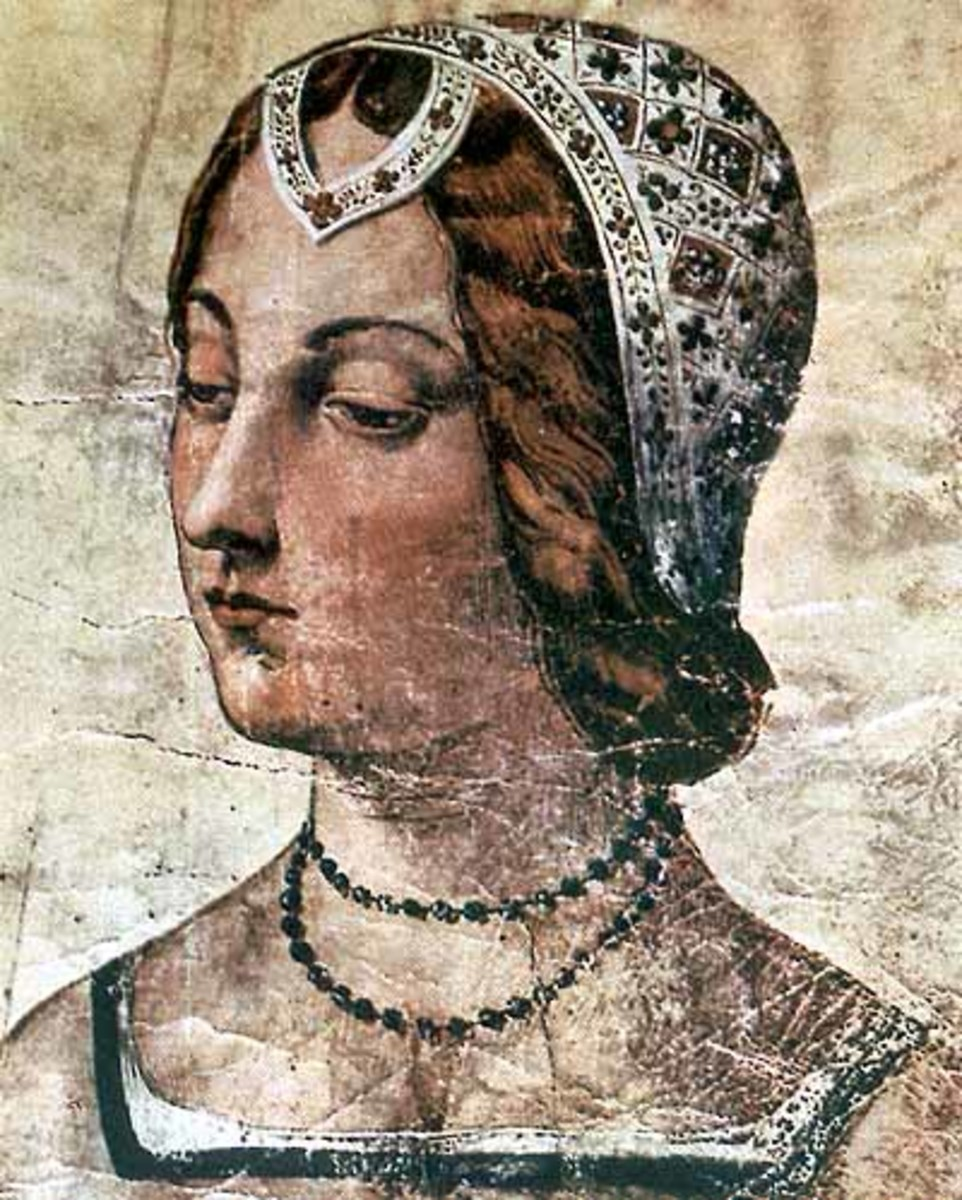 Portrait of Petrarch's muse, Laura de Noves