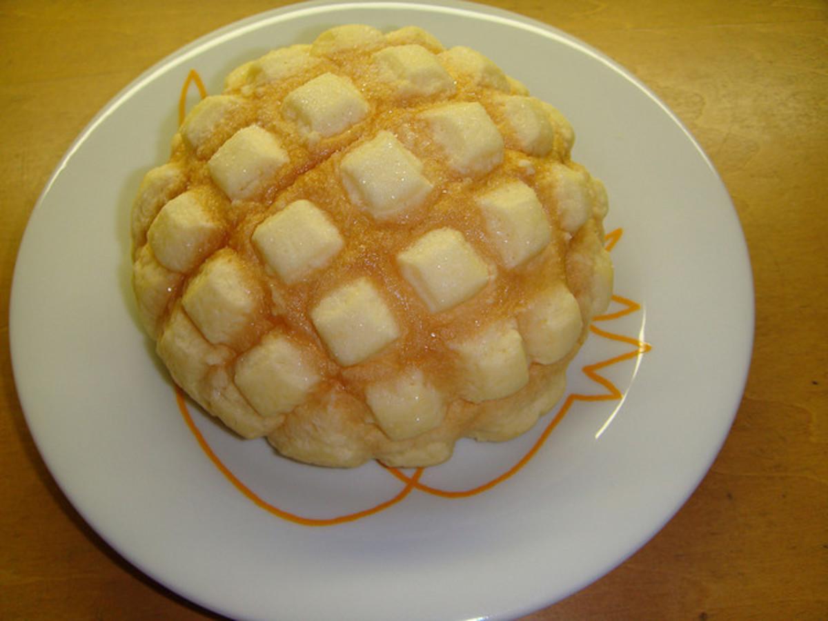 Melon Pan. It may or may not taste like melon.
