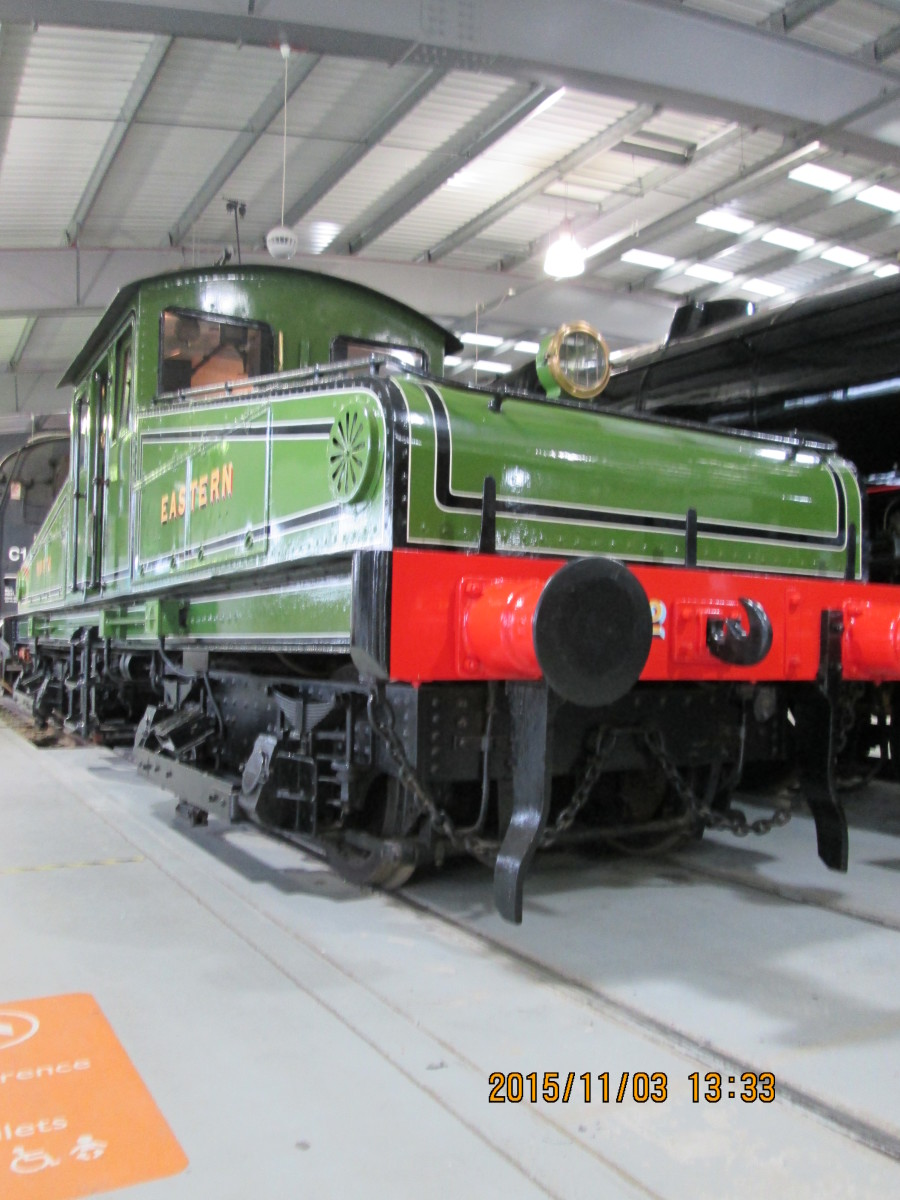 Class Electric 1, No.1 used to operate at Newcastle-upon-Tyne on the Redheugh Incline from the riverside to the main line station level. Two were built, one one preserved