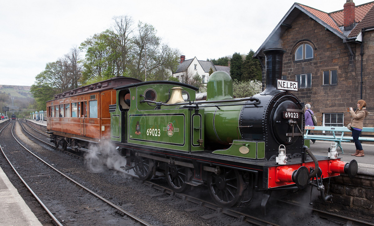Originally designed by Wilson Worsdell as Class E1 in 1885 two further batches were built, one by the LNER and the last by British Railways in 1951 - a robust little loco intended as a pilot and yard shunter. Newcastle pilot 69023 is owned by NELPG
