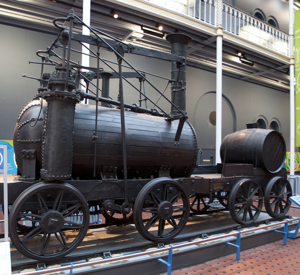 'Wylam Dilly', (pron. 'Willam') one of Timothy Hackworth's early locomotives built under contract