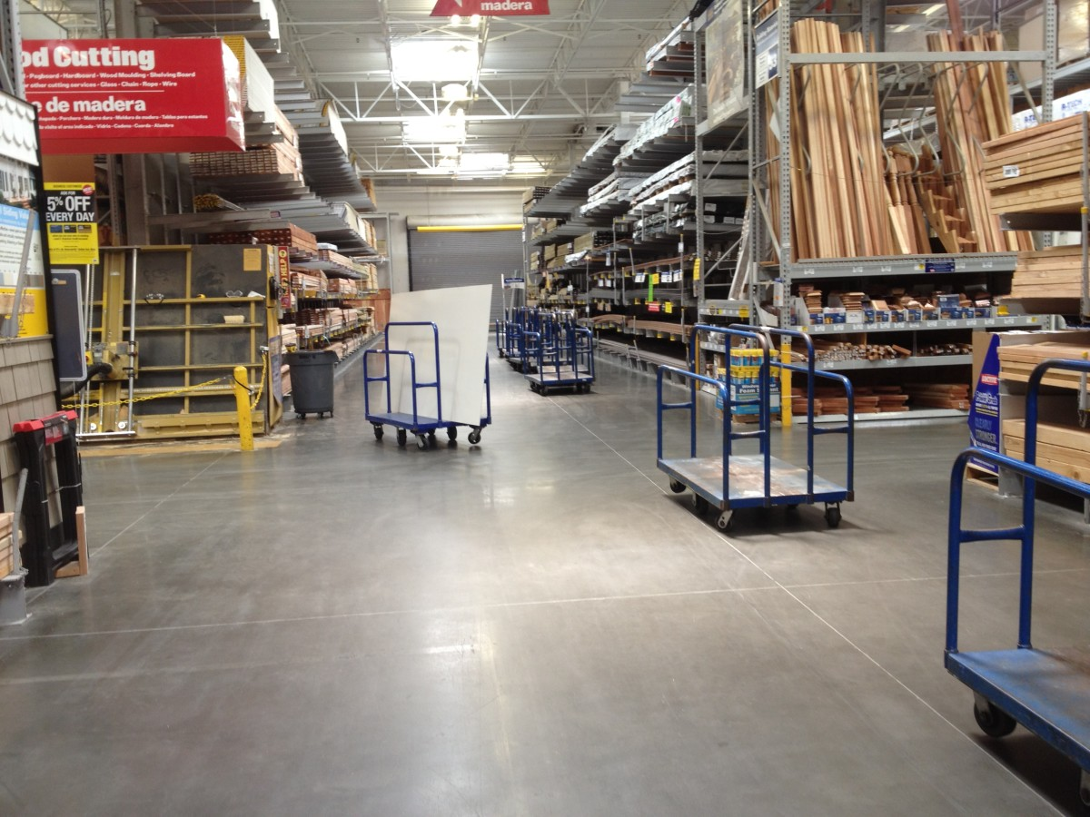 This is how the Aisle with all the dolly's loks like, so ask for it (they are not outside) they were next to the lumber setction (I think that's what the guy said)