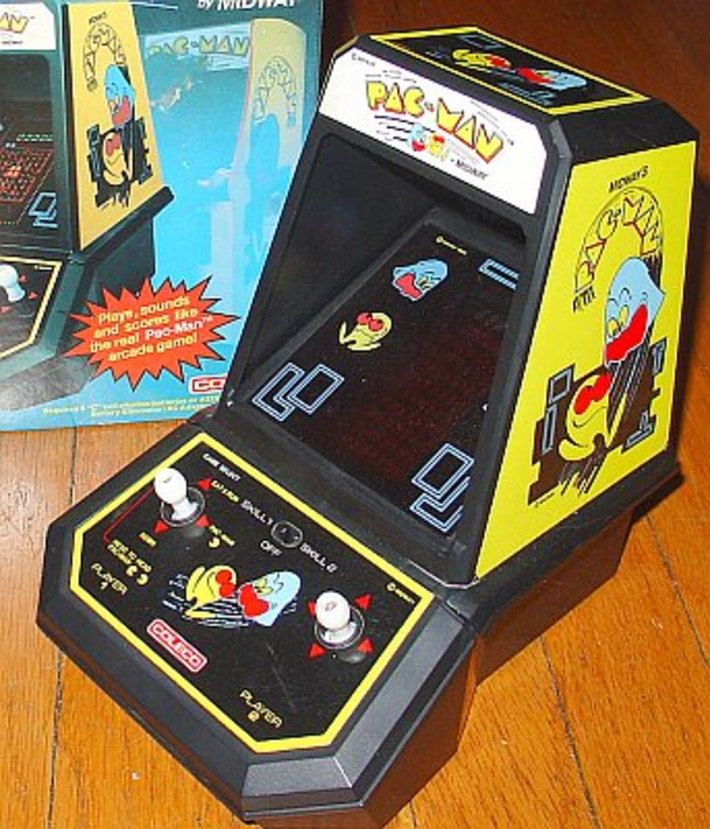 Coleco PacMan Tabletop game