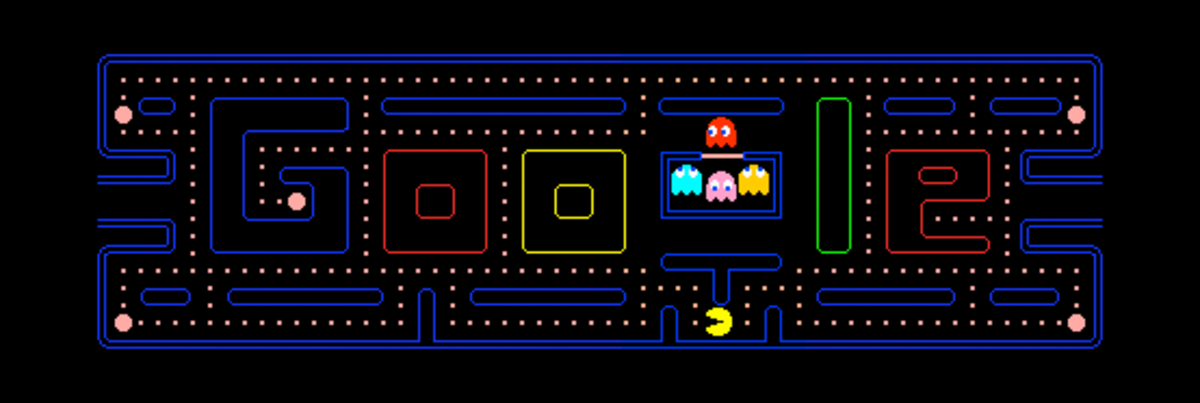 The PacMan Google Game