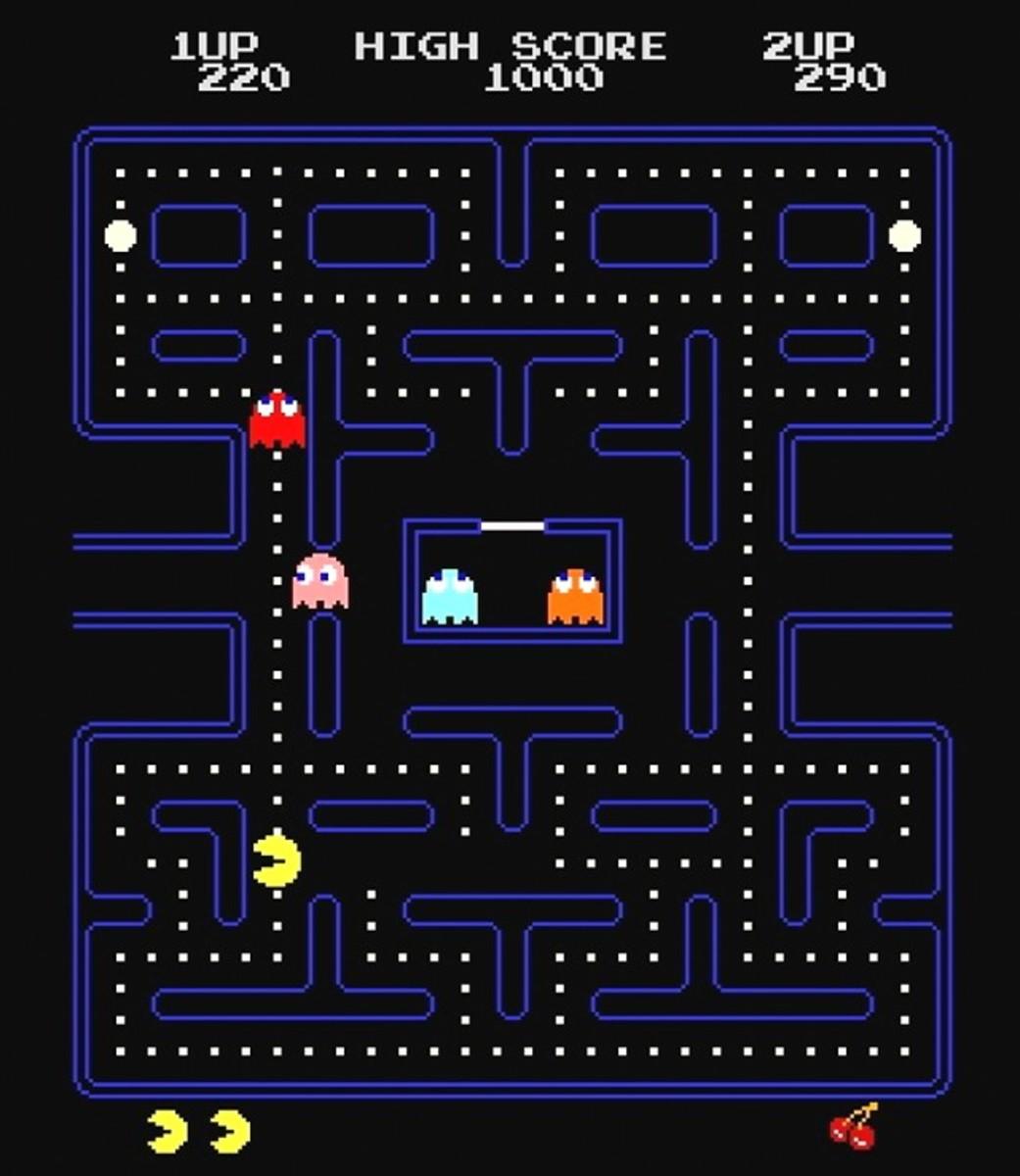 PacMan Arcade Screenshot