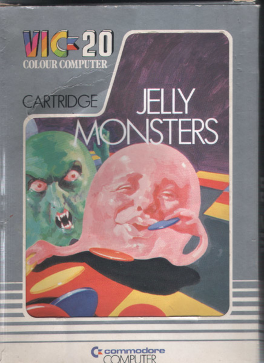 Jelly Monsters for the Vic-20
