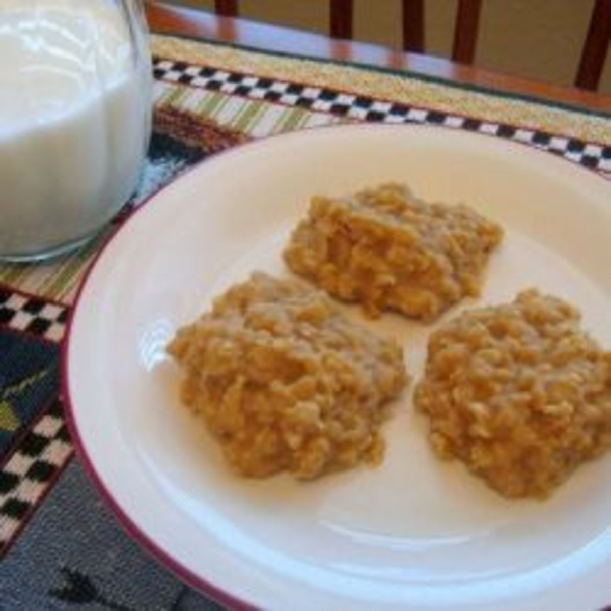 Peanut butter cookies make a great after school snack!