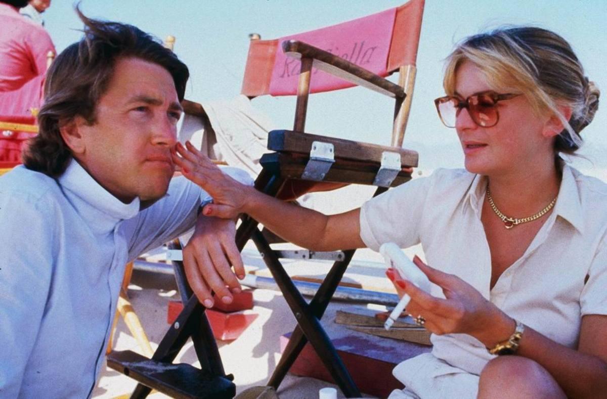 David Lynch with Raffaella De Laurentiis
