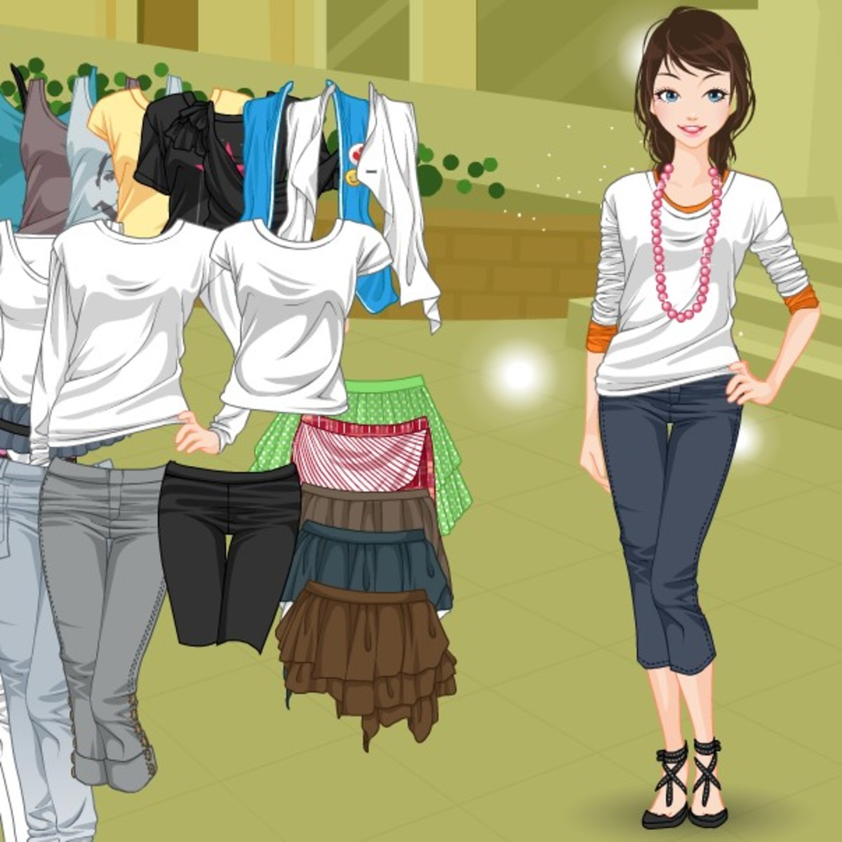 Dress up games for girls who love fashion