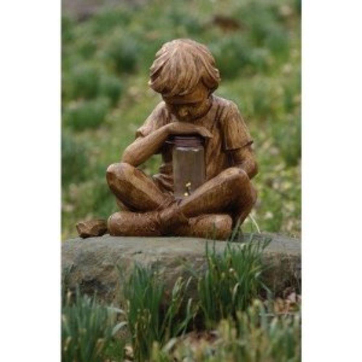 Boy With Firefly Jar from Amazon