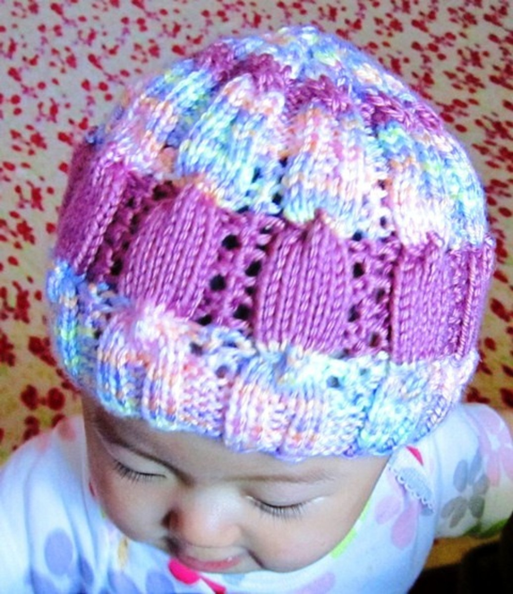 Colorful Candy Baby Hat Free Pattern with Tutorial Videos!
