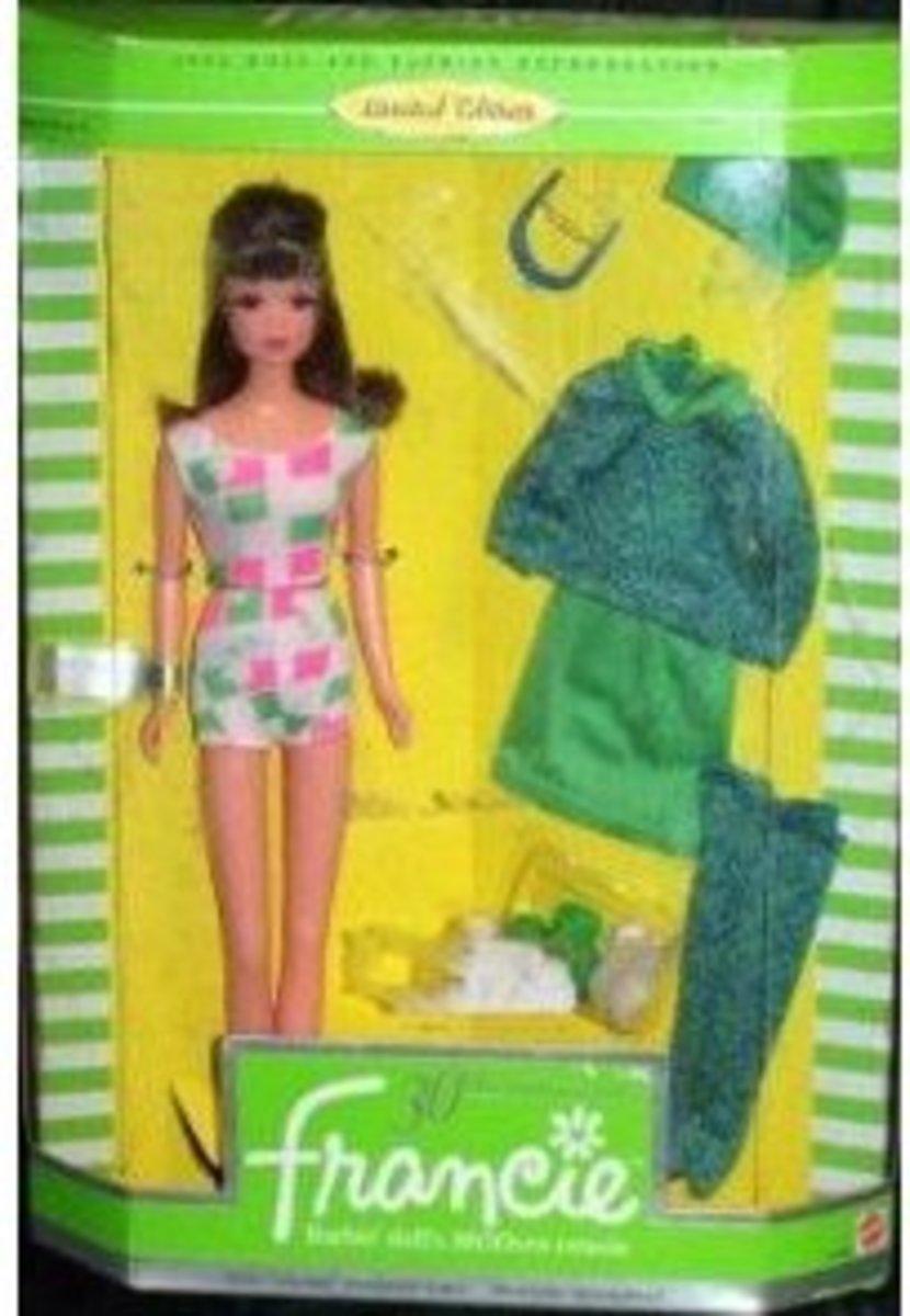 Francie Doll's 30th Anniversary: 1996