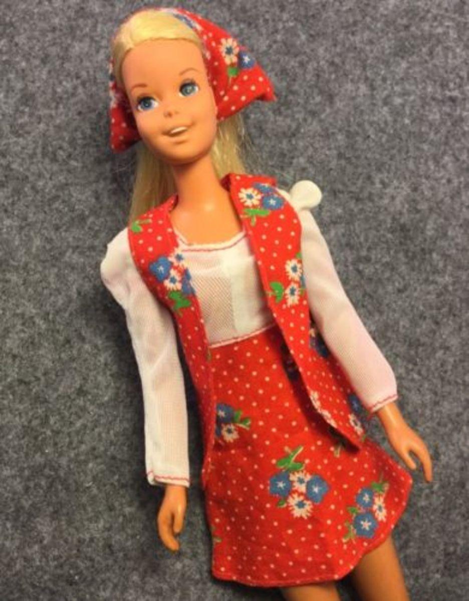 Francie Doll's Best Buy fashion #7214, 1975