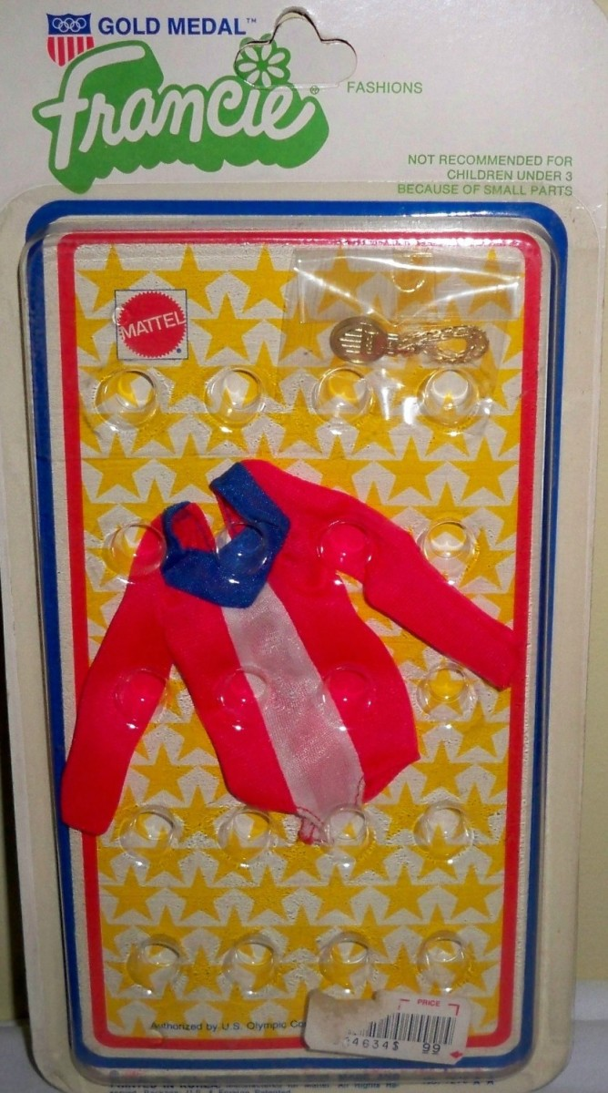 Francie Doll's Best Buy fashion #7273; Olympics, 1975