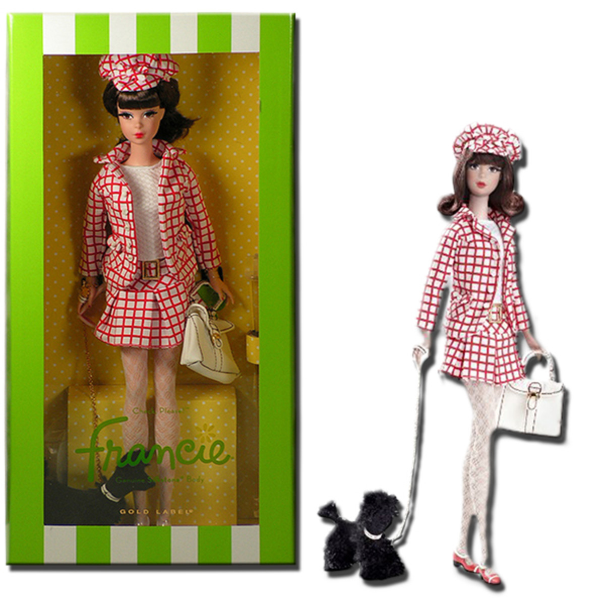 Barbie Gold Label Silkstone Francie doll