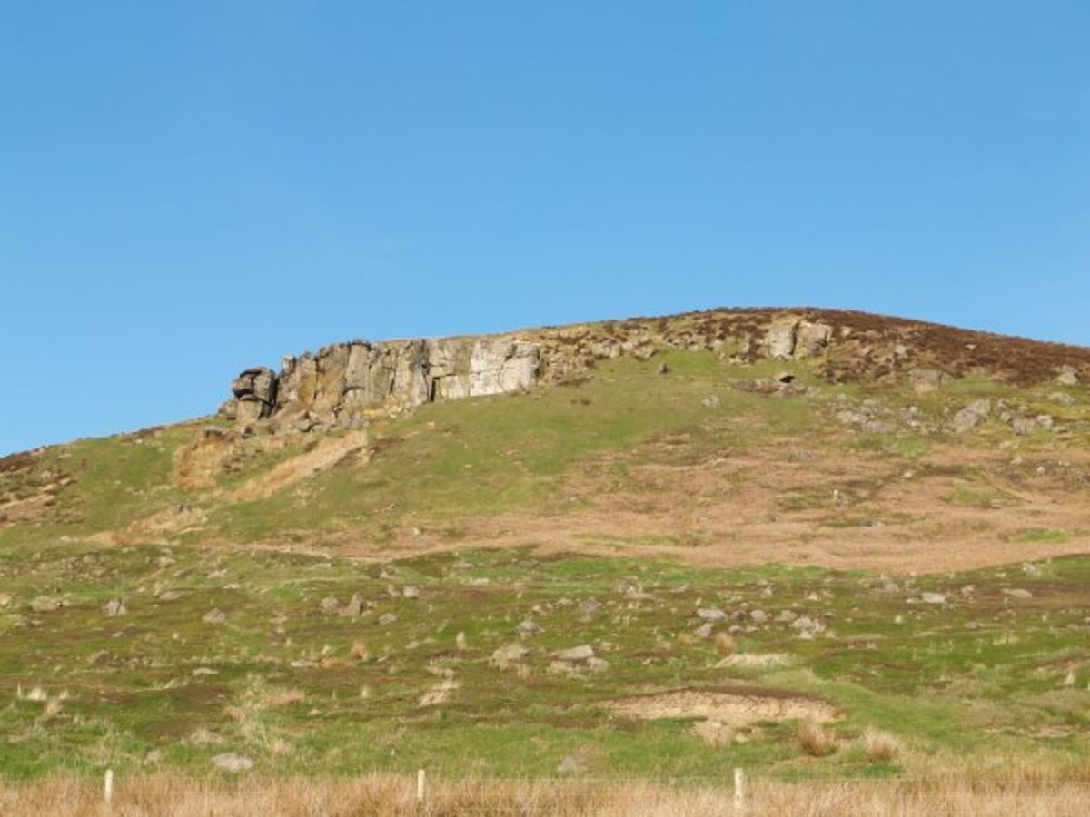 High ground to the south of Kildale known on the O/S map as 'The Park' - popular with climbers and walkers alike