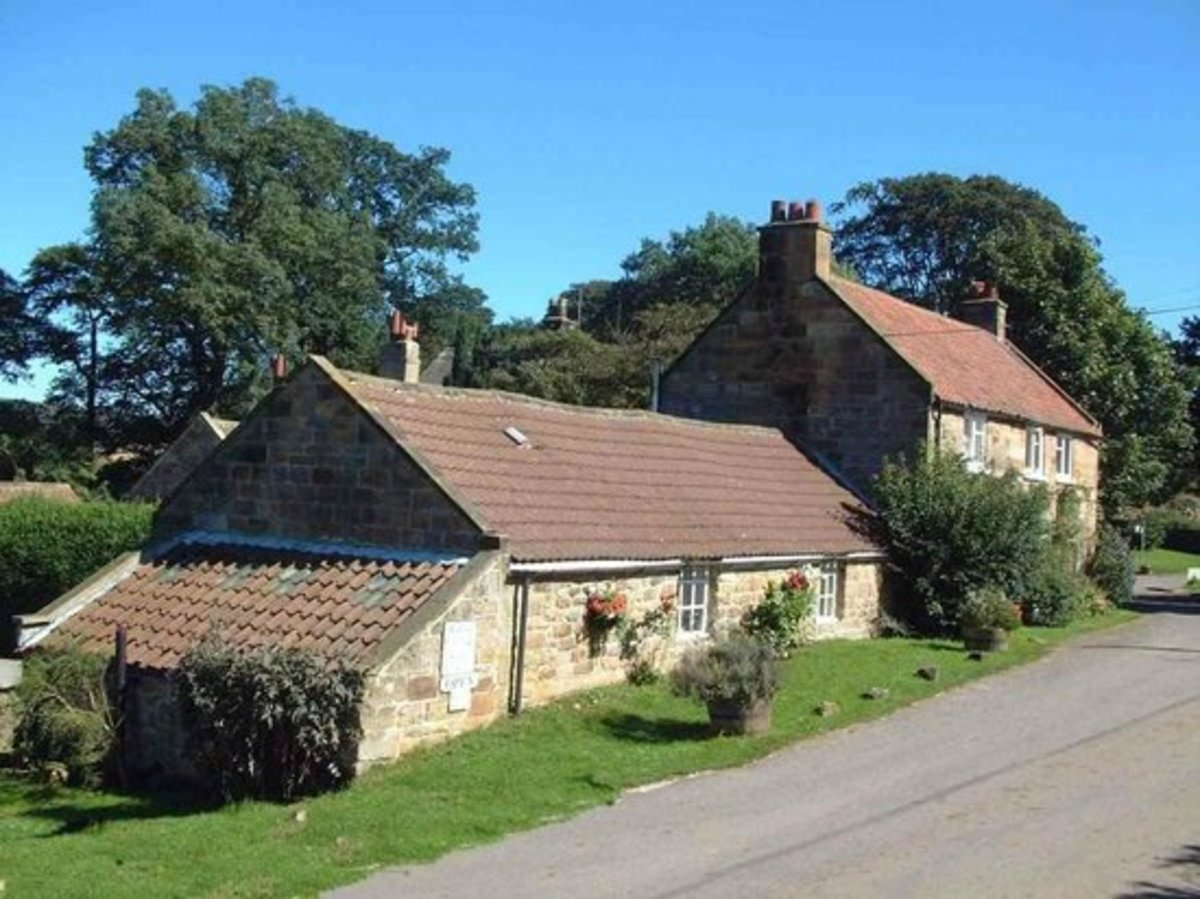 Glebe Cottage Tearooms, just off the main road and an ideal place to map out your route over a cup of coffee, tea - or soup in cold weather)