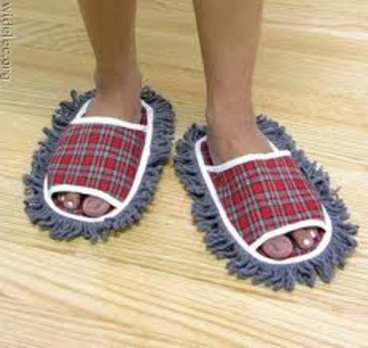 Thank goodness mop slippers weren't suppressed or my kitchen floor would never get clean.