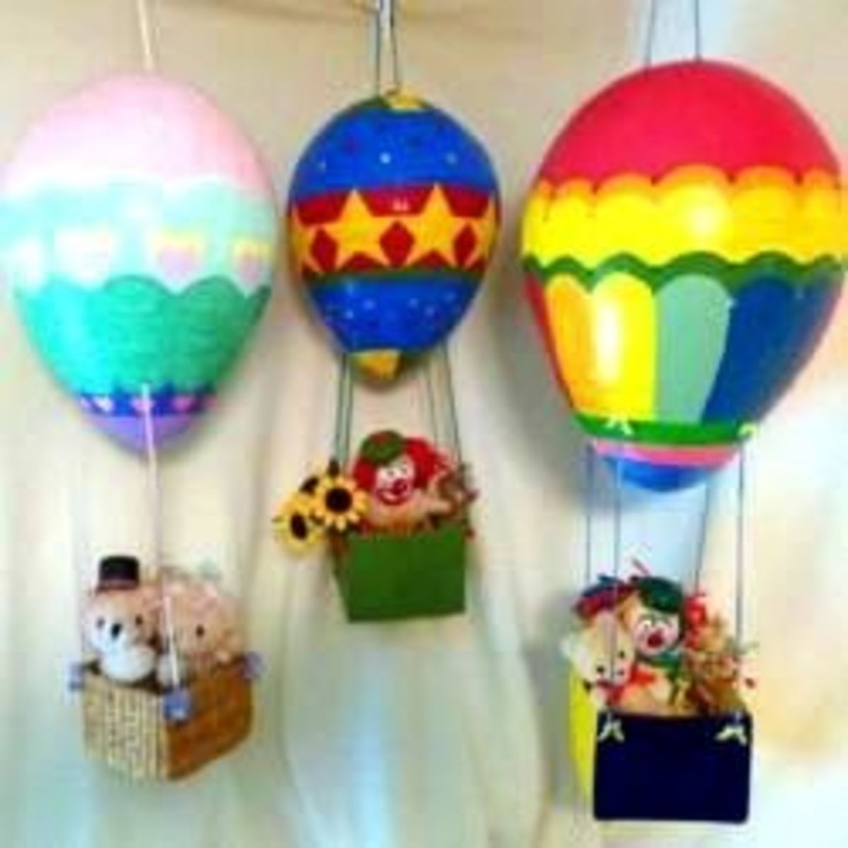 How to Make a Paper Mache Hot Air Balloon