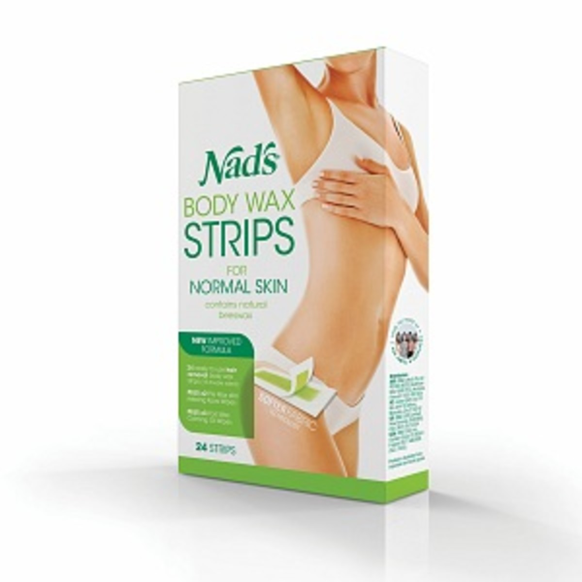 The Best Home Waxing Product: Best Leg Wax. Great for Hirsutism or PCOS hair removal solutions.