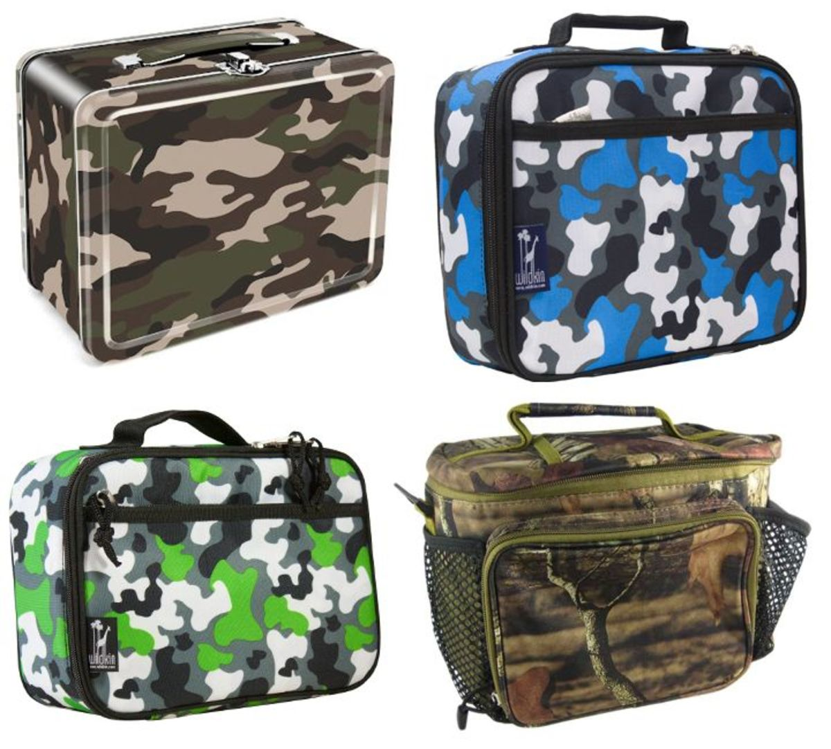 Camouflage Lunch Boxes
