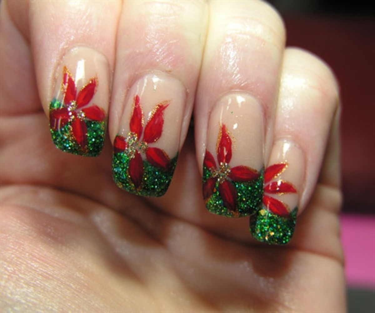 Flower Nail Art Designs, Tips Tutorials
