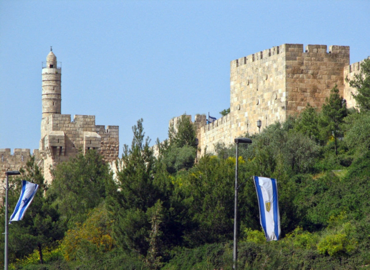 David's Tower and Citadel in Jerusalem