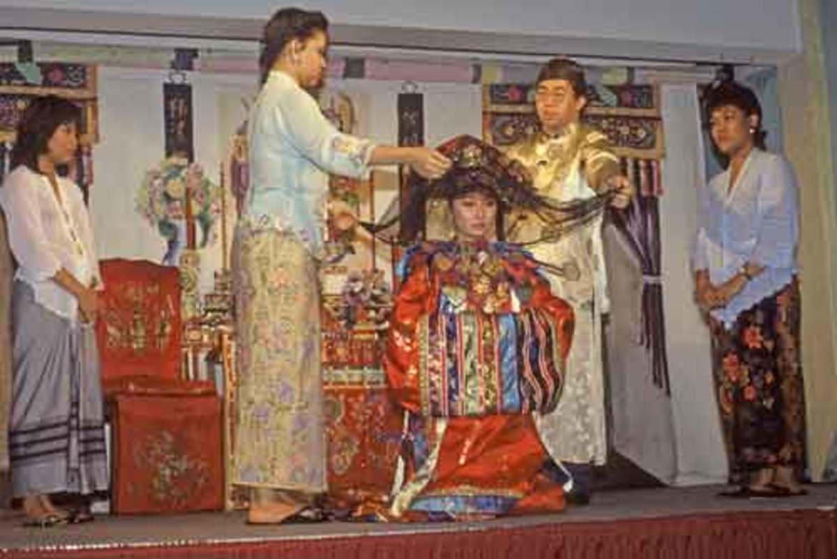 A Peranakan Wedding