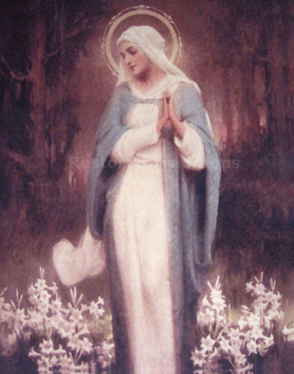 Mary or the goddess, Asherah.