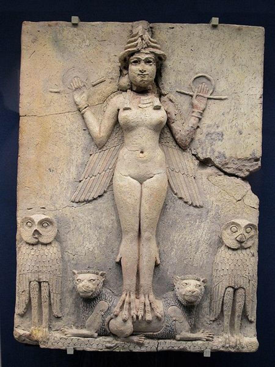 Asherah also worshipped as Ishtar or Astarte.